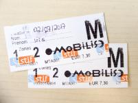 Paris Metro Ticket Tagesticket Mobilis