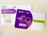 Paris Metro Ticket Navigo