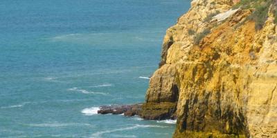 Algarve Carvoeiro Cliff Walk Klippen