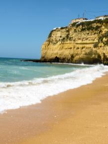 Algarve Carvoeiro Klippen Strand