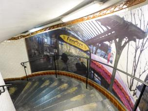 Paris Metro Station Abbesses