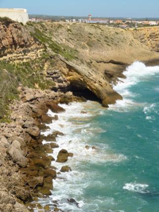 Algarve Ponta de Sagres Fortaleza Küste