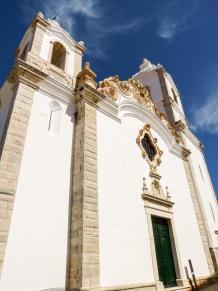 Algarve Lagos Altstadt Kirche Sao Antonio