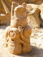 Algarve Pera Sand City Fiesa Sandskulpturen Minions