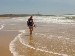Algarve Portimao Praia da Rocha Strand