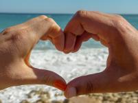 Algarve Sagres Strand Liebe