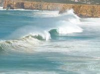 Algarve Ponta de Sagres Küste Meer Wellen
