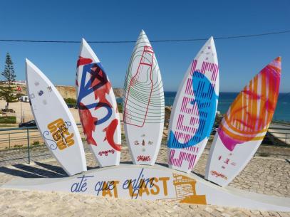 Algarve Sagres Strand Surfen