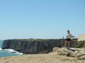Algarve Ponta de Sagres Küste