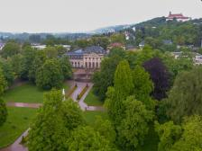 Fulda Stadtschloss Schloss Turm Schlossgarten Orangerie