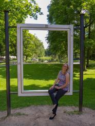 Fulda Schlossgarten Rahmen