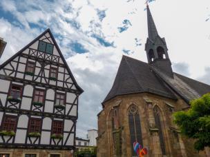 Fulda Altstadt Kirche St.Severi