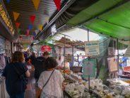 Thailand Bangkok Straßen Marktstände