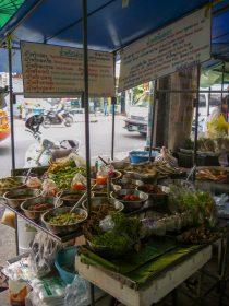 Thailand Bangkok Straßen Marktstände Street Food