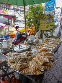 Thailand Bankok Straßen Marktstände Street Food