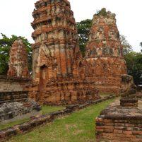 Thailand Ayutthaya alte Königsstadt Tempel Ruinen