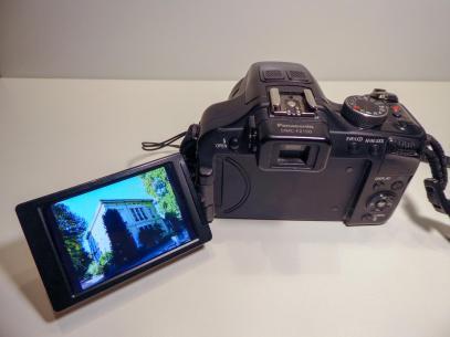 Fotos Kamera Bridgekamera Panasonic Lumix DMC-FZ150 Superzoom