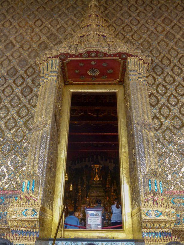 Thailand Bangkok Königspalast Königstempel Wat Phra Kaeo Emerald Buddha
