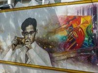 Thailand Bangkok Königspalast Königstempel Wat Phra Kaeo Graffiti