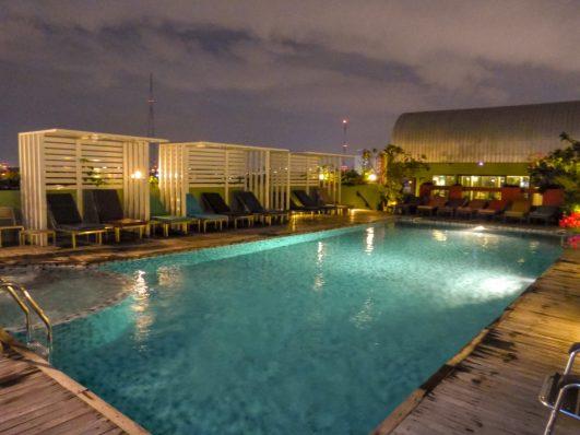 Thailand Bangkok Nouvo City Hotel Rooftop Swimmingpool