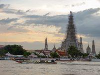 Thailand Bangkok Chao Praya Wat Arun Tempel