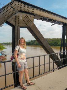Thailand Kanchanaburi Brücke am Kwai