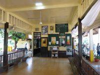 Thailand River Kwai Burmabahn Dschungel Bahnhof Thakilen