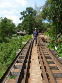 Thailand River Kwai Burmabahn Dschungel Viadukt Wampo