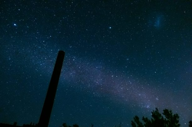 Südafrika Oudtshoorn Kleine Karoo südlicher Sternenhimmel Südhalbkugel Sterne Milchstraße Weltall
