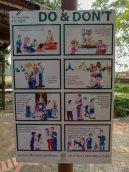 Thailand Ayutthaya Tempelruinen Tempel Ruine Wat Maha That Regeln