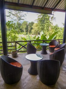 Thailand Khao Sok Nationalpark Dschungel Anurak Community Lodge Dschungelbar