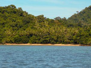 Thailand Koh Ngai Koh Hai Insel Andamanensee Inselparadies Meer Bootsausflug Strand Palmen