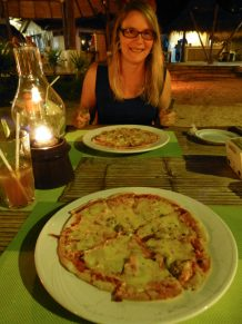 Thailand Koh Ngai Koh Hai Insel Andamanensee Inselparadies Strand Meer Mayalay Beach Resort Restaurant Salalay Pizza