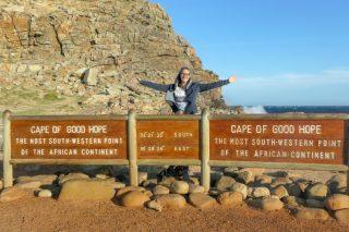 Südafrika South AfricaKap der Guten Hoffnung südwestlichster Punkt Afrika Kap Halbinsel Cape of Good Hope