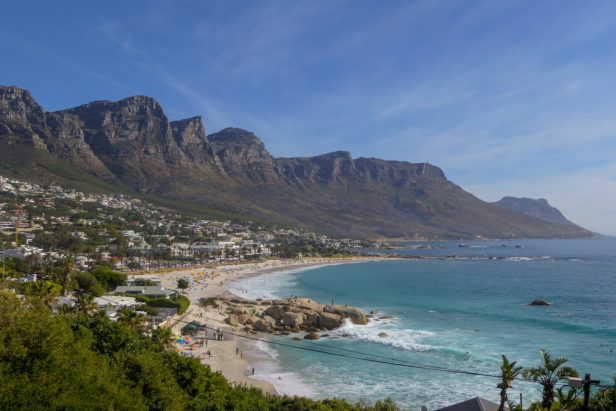 Süafrika South Africa Kapstadt Cape Town Camps Bay Vorort Strand Zwölf Apostel Meer