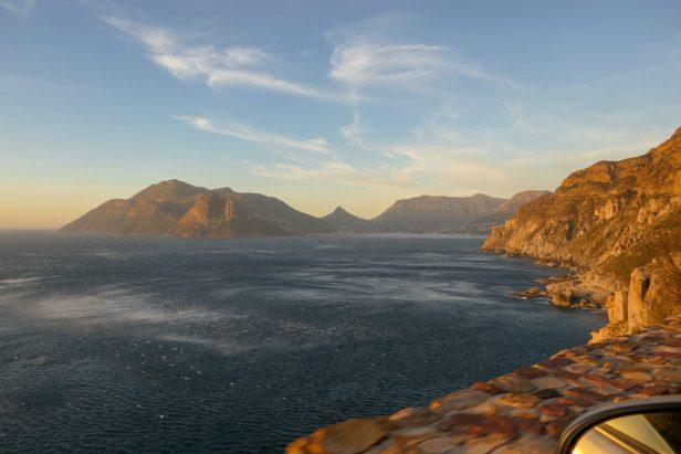 Südafrika South Africa Kapstadt Cape Town Kap Halbinsel Chapmans Peak Drive Hout Bay Meer Abendsonne Panoramastraße