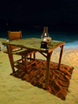 Thailand Koh Ngai Koh Hai Insel Andamanensee Inselparadies Restaurant Salalay