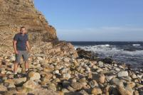 Südafrika South Africa Kap Halbinsel Cape Point Nationalpark Kap der Guten Hoffnung Cape of Good Hope südwestlichster Punkt Afrika Felsen