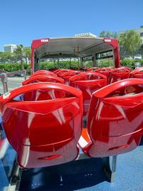 Südafrika Kapstadt Cape Town City Sightseeing Hop on Hop Off Bus Doppeldeckerbus Bustour