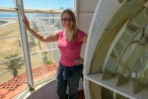 Südafrika Kapstadt Cape Town Green Point Lighthouse Leuchtturm Scheinwerfer
