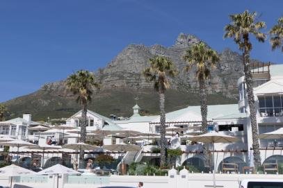 Südafrika Kapstadt Cape Town Camp's Bay Vorort Promenade