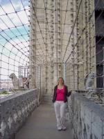 Frankreich Paris Notre Dame de Paris Kathedrale Glockenturm Turm Turmbesteigung Galerie
