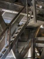 Frankreich Paris Notre Dame de Paris Kathedrale Glockenturm Turm Turmbesteigung Galerie Glocken Holzturm Beffroi