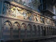 Frankreich Paris Notre Dame de Paris Kathedrale Gotik Altar Chor