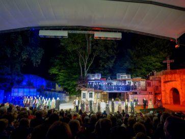 Musical Les Misérables Les Mis Freilichtbühne Tecklenburg