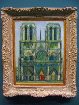 Frankreich Paris Notre Dame de Paris Kathedrale Gemälde Musée d'Orsay Impressionismus