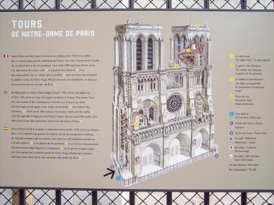 Frankreich Paris Notre Dame de Paris Kathedrale Plan Glockentürme Türme Turmbesteigung