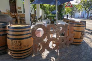 Südafrika South Africa Weinregion Winelands Stellenbosch Restaurant Oppie Dorp