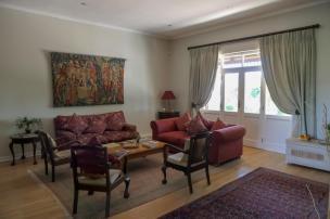 Südafrika South Africa Weinregion Winelands Stellenbosch Hoopenburg Guesthouse Wohnzimmer