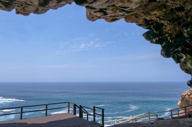 Südafrika South Africa Kap Mossel Bay St Blaize Cave Höhle Trail ärchäologische Fundstätte Meer